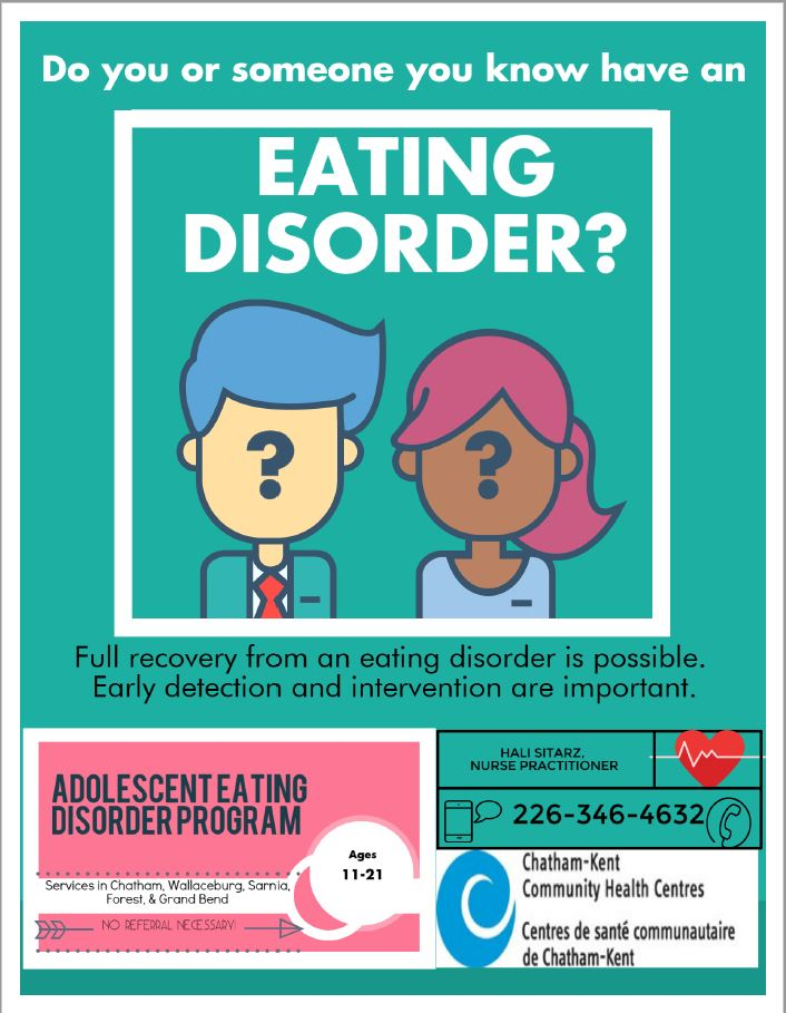 Eating Disorder poster